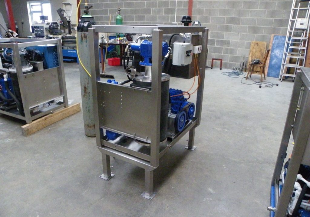 hydraulic ice machine
